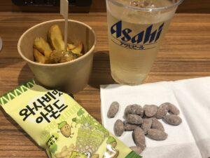ファイブホテル韓国お菓子で飲む