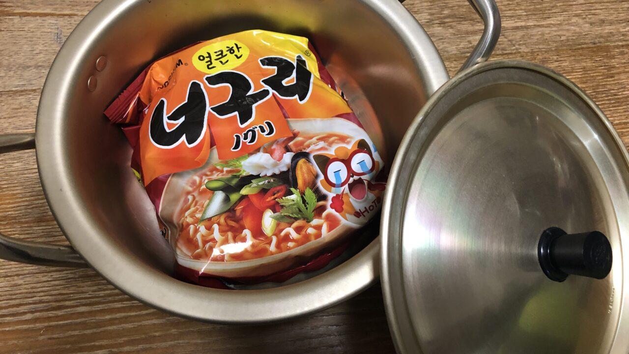 韓国ラーメン鍋