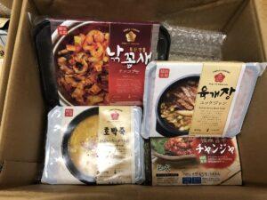 通販韓国料理1箱め